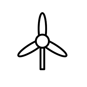 Wind energy is a renewable energy source used in sustainable architecture.