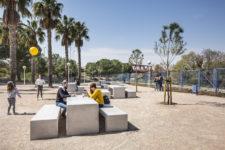 Refurbishment of Carmen Carpintero park in Manises.