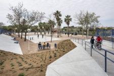 Projecte Parc de Manises, tamborí arquitectes arquitectura urbanística i del paisatge, espai d'entreteniment