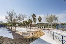 proyecto parque Manises publicado en Landezine arquitectura de paisaje o paisajismo